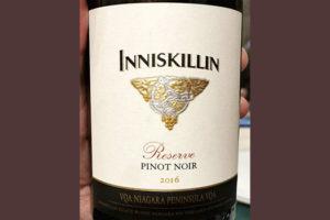 Inniskillin Pinot Noire Reserve Niagara Peninsula 2016 Красное вино отзыв