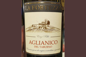 La Fortezza Aglianico del Taburno 2015 Красное вино отзыв