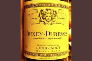 Louis Jadot Auxey-Duresses 2015 Красное вино отзыв