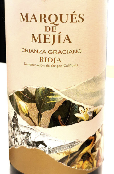 Marques de Mejia Crianza Graciano Rioja 2018 Красное вино отзыв