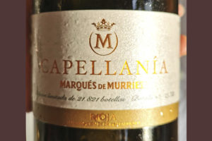 Marques de Murrieta Capellania blanco Rioja 2013 Белое вино отзыв