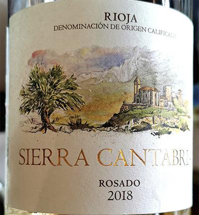 Sierra Cantabria Rosado Rioja 2018 Розовое вино отзыв