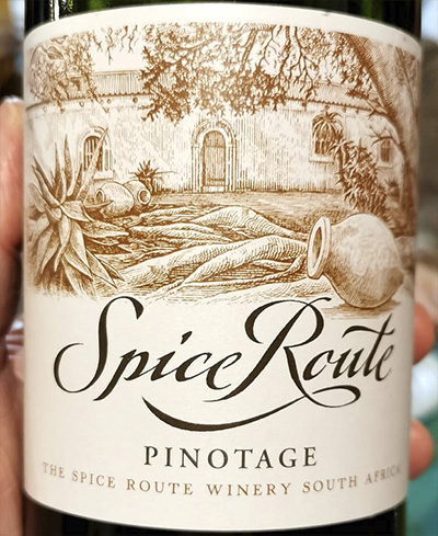 Spice Route Pinotage South Africa 2018 Красное вино отзыв