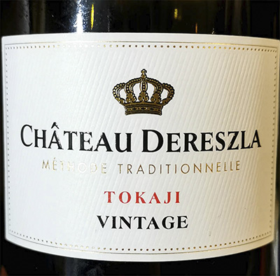 Chateau Dereszla Tokaji Vintage methode traditionelle 2015 Игристое вино отзыв