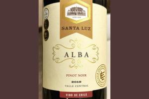 Luis Felipe Edwards Santa Luz Alba Pinot Noir Chile 2019 Красное вино отзыв