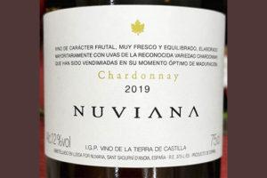 Nuviana Chardonnay Tierra de Castilla 2019 Белое вино отзыв