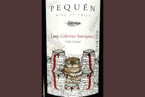 Pequen Cabernet Sauvignon Valle Central Chile 2017 Красное вино отзыв