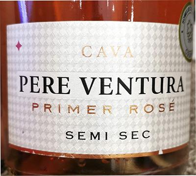 Pere Ventura Cava Primer Rose Semi Sec Отзыв об игристом розовом вине