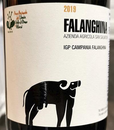 San Salvatore Falanghina Campania 2019 Белое вино отзыв