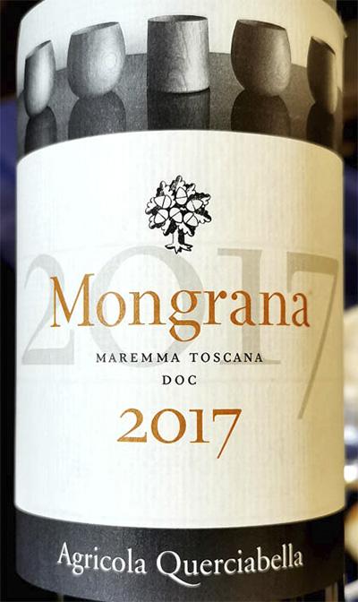 Agricola Querciabella Mongrana Maremma Toscana 2017 Красное вино отзыв