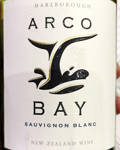 Arco Bay Sauvignon Blanc Marlboro New Zealand 2019 Белое вино отзыв