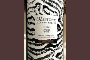 Darwin Vineyards Observer Syrah Reserve Darwin Series 2019 Красное вино отзыв