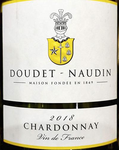 Doudet-Naudin Chardonnay Vin de France 2018 Белое вино отзыв