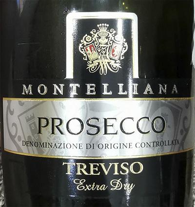Montelliana Prosecco Treviso Extra Dry Игристое вино отзыв