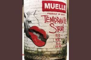 Muelle Tempranillo Syrah Red Wine 2018 Красное вино отзыв