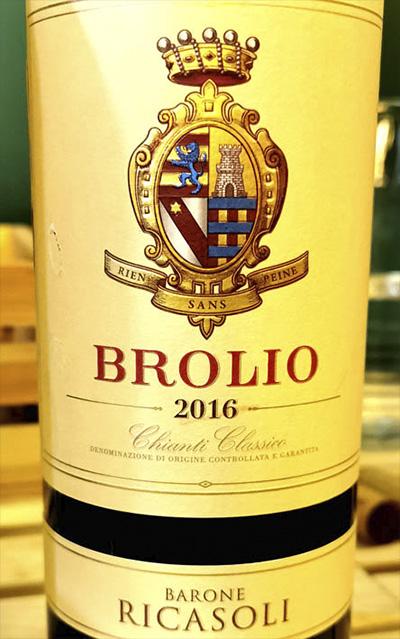 Barone Ricasoli Brolio Chianti Classico 2016 Красное вино отзыв