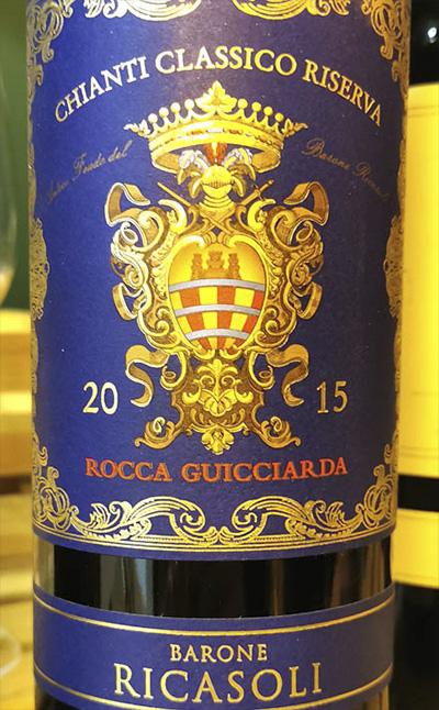 Barone Ricasoli Brolio Rocco Guicciarda Chianti Classico Riserva 2015 Красное вино отзыв
