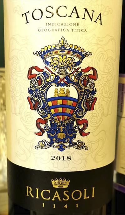 Barone Ricasoli Toscana rosso 2018 Красное вино отзыв