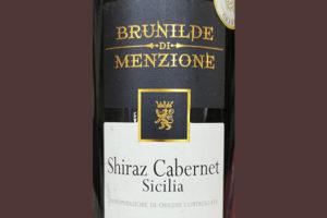 Brunilde di Menzione Shiraz Cabernet Sicilia 2019 Красное вино отзыв