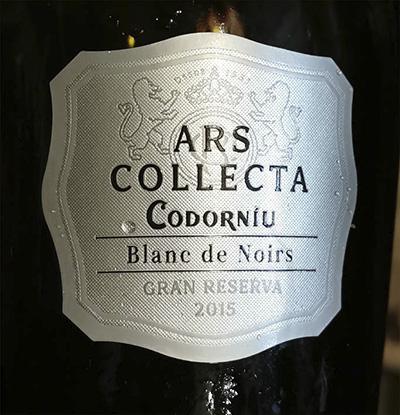 Codorniu Ars Collecta Blanc de Noirs Gran Reserva 2015 Белое вино отзыв