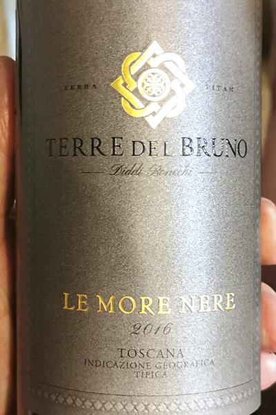 Fattoria Pogni Terre del Bruno Le More Nere Merlot 2016 Красное вино отзыв