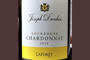 Joseph Drouhin LaForet Chardonnay Bourgogne 2019 Белое вино отзыв