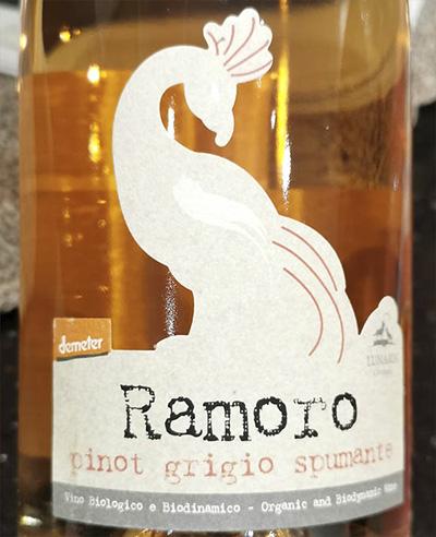 Lunaria Ramoro Pinot Grigio Millesimato Spumante 2019 Розовое игристое вино отзыв