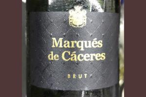 Marques de Caseres Cava Brut blanco 2019 Игристое вино отзыв