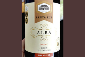 Santa Luz Alba Malbec Valle Central Chile 2019 Красное вино отзыв