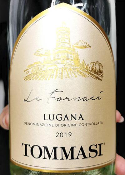 Tommasi Lugana Le Fornaci 2019 Белое сухое вино отзыв