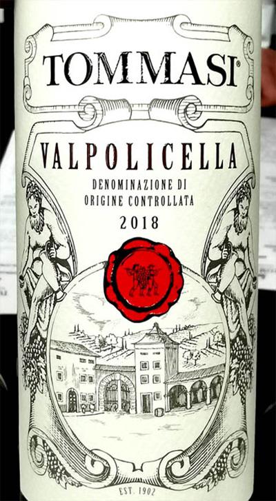 Tommasi Valpolicella 2018 Красное сухое вино отзыв