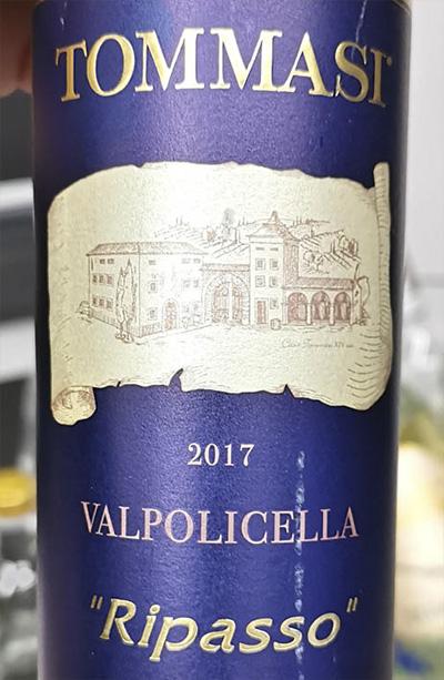 Tommasi Valpolicella Ripasso 2017 Красное сухое вино отзыв