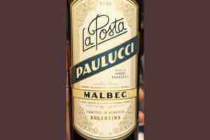 Angel Paulucci La Posta Malbec Argentina 2018 Красное сухое вино отзыв
