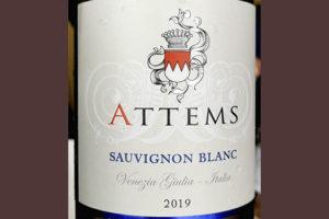 Attems Sauvignon Blanc Venecia Giulia 2019 Белое сухое вино отзыв