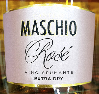 Cantina Maschio Rose Vino Spumante Extra Dry Розовое игристое экстра сухое вино отзыв