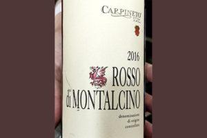 Carpineto Rosso di Montalcino Toscana 2016 Красное сухое вино отзыв
