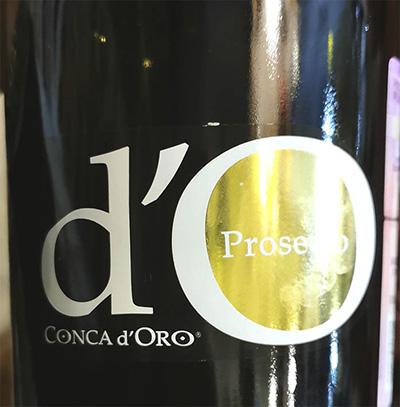 Conca d'Oro Prosecco Brut 2019 Белое игристое вино брют отзыв