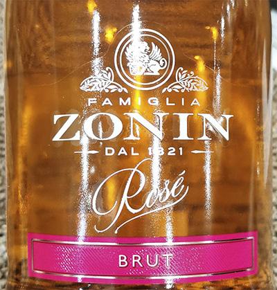 Famiglia Zonin Rose Brut Розовое игристое экстра сухое вино отзыв