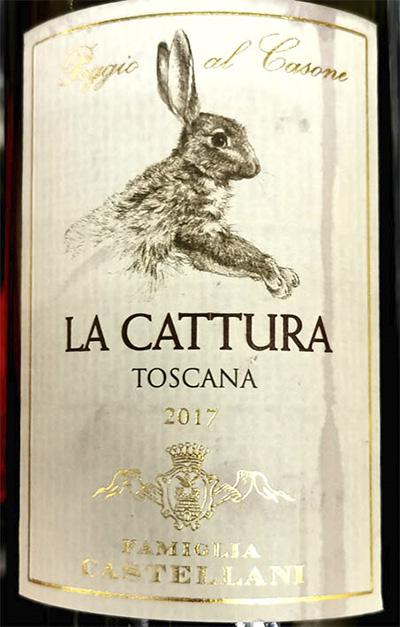 Familia Castellani Poggio al Casole La Cattura Toscana 2017 Красное сухое вино отзыв