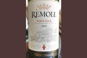 Frescobaldi Remole rosso Toscana 2013 Красное сухое вино отзыв