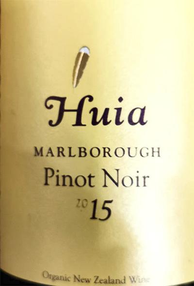 Huia Pinot Noir Marlborough 2015 Красное сухое вино отзыв