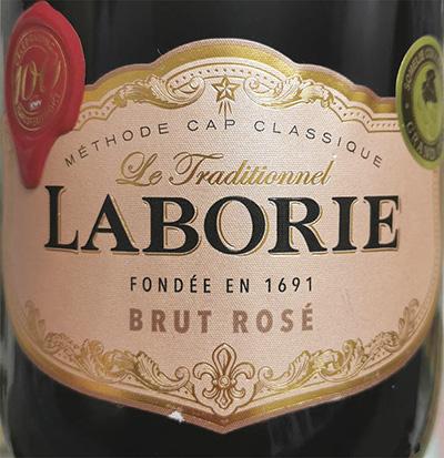 Laborie Le Traditionnel Brut Rose 2018 Розовое игристое вино брют отзыв