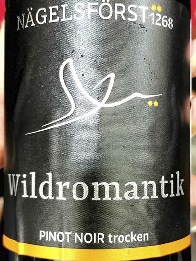 Nagelsforst 1268 Wildromantik Pinot Noir trocken 2018 Красное сухое вино отзыв
