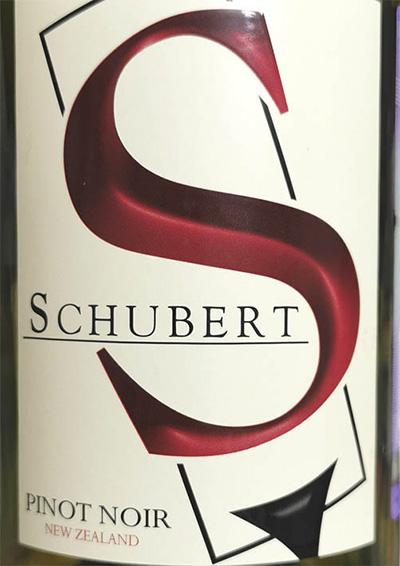 S Schubert Selection Pinot Noir 2018 Красное сухое вино отзыв