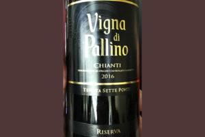 Tenuta Sette Ponti Vigna di Pallino Chinti Riserva 2016 Красное сухое вино отзыв