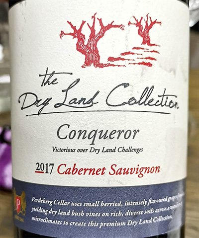 The Dry Land Collection Conqueror Cabernet Sauvignon 2017 Красное сухое вино отзыв