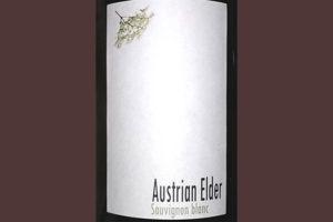 Weingut R&A Pfaffl Austrian Elder Sauvignon Blanc 2019 Белое сухое вино отзыв