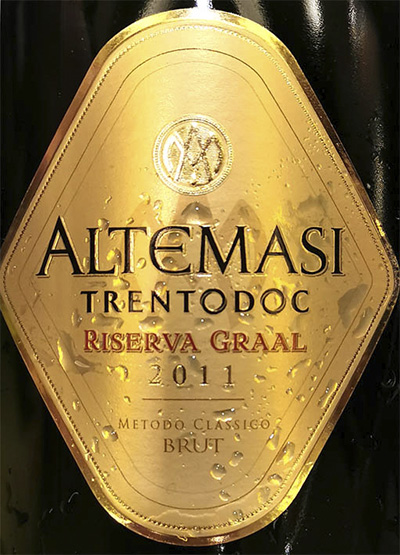 Altemasi Graal Riserva Brut Trento DOC 2011 Белое игристое вино брют отзыв