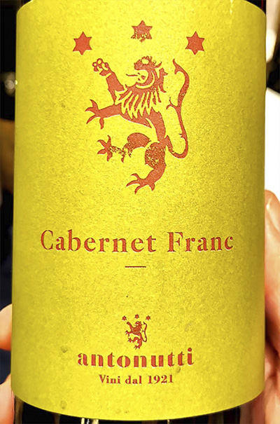 Antonutti Cabernet Franc 2018 Красное сухое вино отзыв