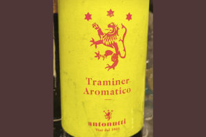 Antonutti Traminer Aromatico 2019 Белое сухое вино отзыв
